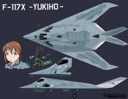 F-117X -Yukiho- by PAK-FAace1234