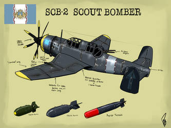 Gallian Navy SCB-2 Scout Bomber by PAK-FAace1234