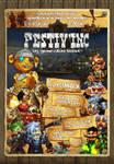 Gnome Festival poster by Bobibel
