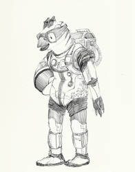 2 - the spacesuit by Dragoreon