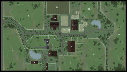 Evergreen Gardens Map by Nabashta