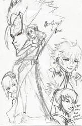 ! Birthright and Love by Dreballin3x