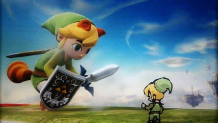 ! Toon Link by Dreballin3x