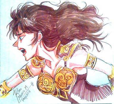 Gabrielle!!!!! by mariavgsriu