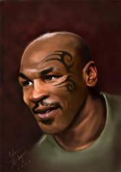 Mike Tyson by salemallangawiart