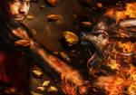 Minotaur RAGE - for contest by Darkdeliverians