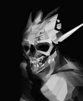 skull demon by scrawlac