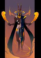 Anubis ~ Egyptian Gods by Yliade