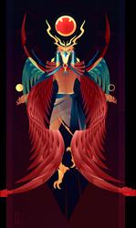 Ra ~ Egyptian Gods by Yliade