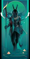 Seth ~ Egyptian Gods by Yliade