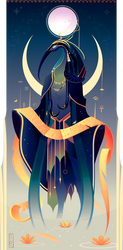 Thoth ~ Egyptian Gods by Yliade