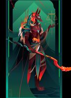 Anubis II ~ Egyptian Gods by Yliade