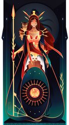 Athena ~ Greek Gods by Yliade