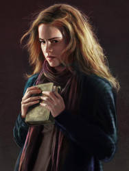 hermione granger by iamamuro