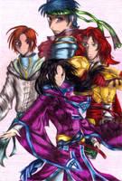The Greil Mercenaries by Sairan