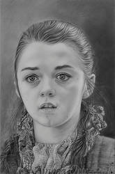 Arya Stark, from Game of Thrones by AinhoaOrtez