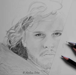 Jon Snow WIP by AinhoaOrtez