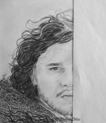 Jon Snow WIP 2 by AinhoaOrtez
