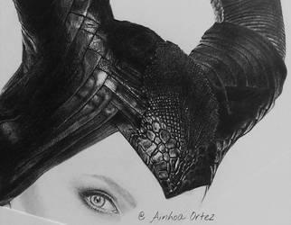 Maleficent WIP 2 by AinhoaOrtez