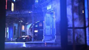 The blue bar by jambek