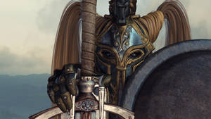 Female knight by jambek