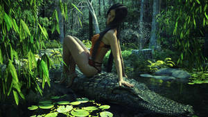 Alligator ride by jambek