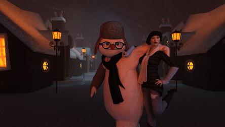 Snow doll by jambek