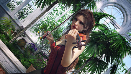 The violin by jambek