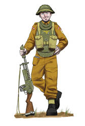 Roane Deepers Guardsman Commission by earltheartist