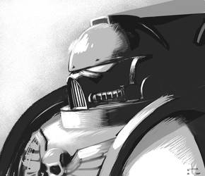 astartes in manga form? by earltheartist