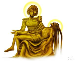 Pieta Caesar Terrachan by earltheartist