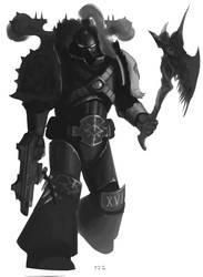 Black Legionnaire by earltheartist