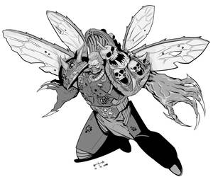 thaddeus the blessed wings of nurgle by earltheartist