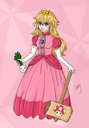 Princess Toadstool by treesquirrel2