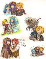 Ramaria Doodles by LadyVentuswill