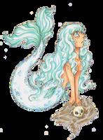 SilverMermaid by LadyVentuswill