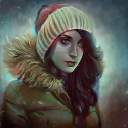 Selfportrait by madanmar