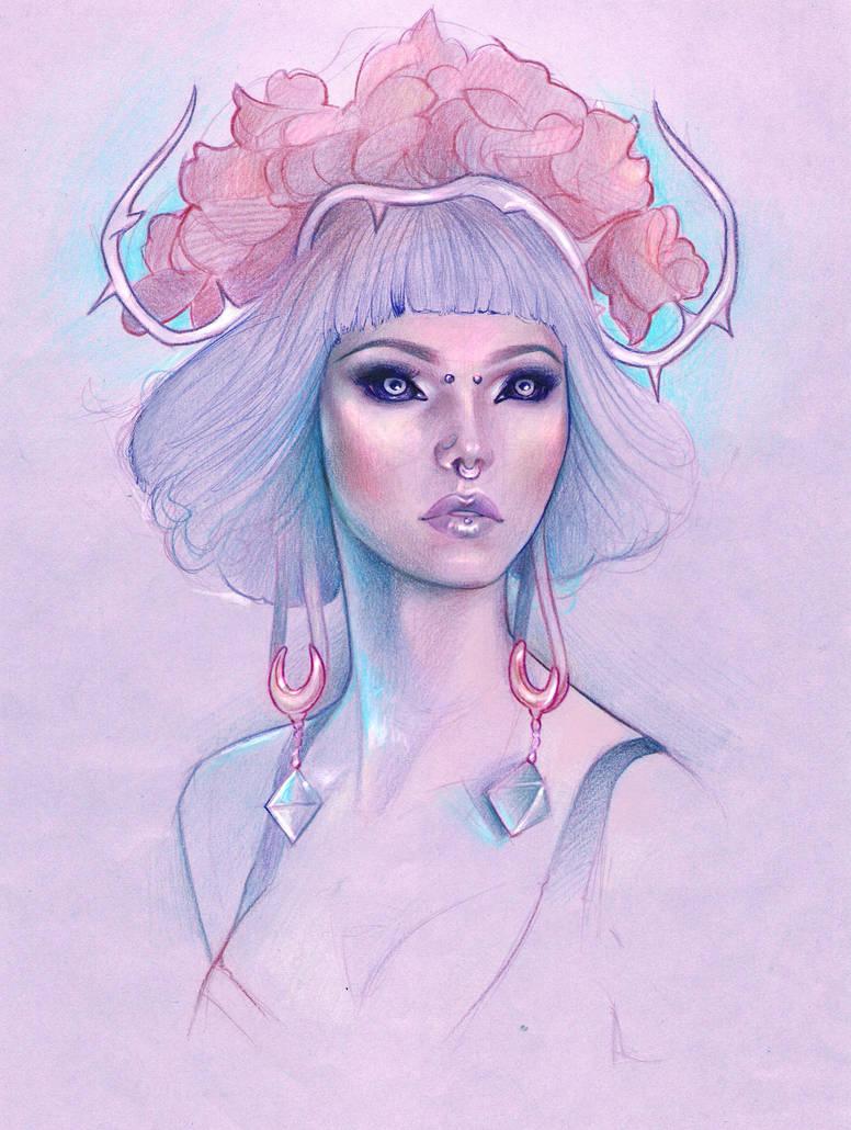 Veronica Carol Blades by madanmar