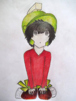 Marvin the Martian by Tantoria