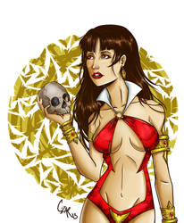 My Vampirella by Cesaku