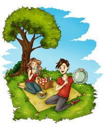 Happy Picnic by Cesaku