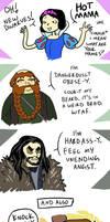 The Hobbit comic dump by AnnabelD