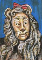 Wizard of Oz - Cowardly Lion by AshleighPopplewell