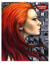 Phoenix Comicon Print by AshleighPopplewell