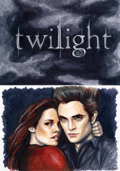 Bella and Edward Commission by AshleighPopplewell