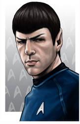 Spock by AshleighPopplewell