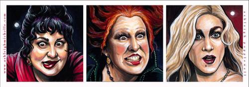 Hocus Pocus Portraits by AshleighPopplewell