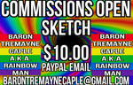 Commissions Open - Sketches: $10 by BaronTremayneCaple