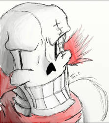 Fallentale The Beginning - PAPYRUS by DaRealNicole