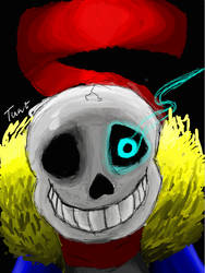Sans - You dirty brother killer by DaRealNicole